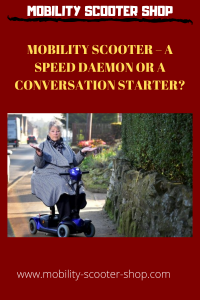 Mobility Scooter - A Speed Daemon Or a Conversation Starter?